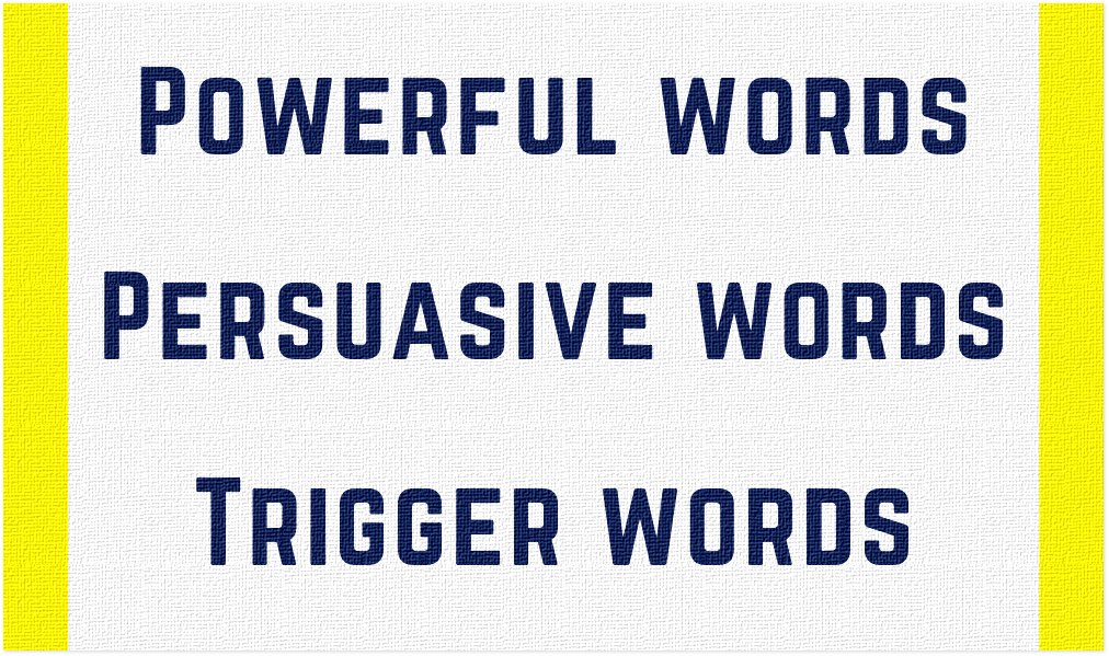 700 Plus Powerful Words Listed By Category 4 power words