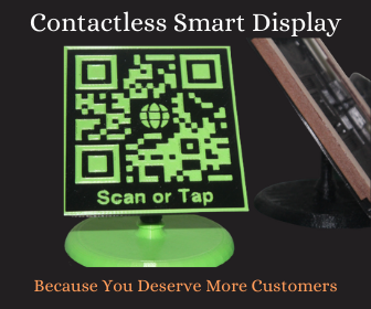 qr code,contactless,nfc,contactless solutions,Solutions for Small Businesses